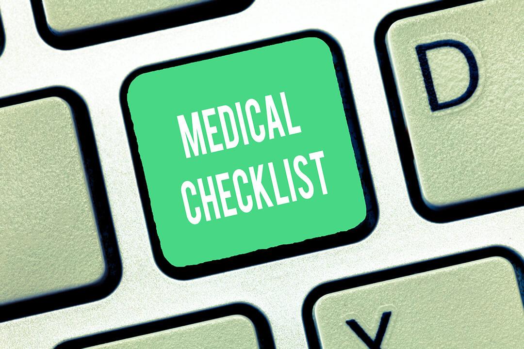 A páciens részéről szükséges előkészületek a vizsgálat előtt